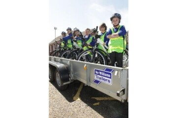 WHEELY GOOD IDEA HELPS LOCAL YOUNGSTERS GET ON THEIR BIKES